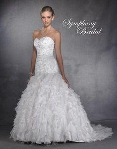 Symphony Wedding Dress - Style S2931 ($75 Rebate for a Veil) $349.99 Wedding Gowns Tuxedo