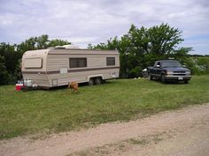 camping 2005 my camper and my ol blue