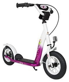Bikestar 10 inch 254 cm Kids Kick Scooter Berry design -- Click image to review more details.
