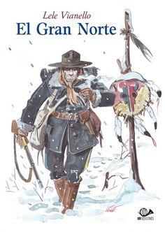 Lele Vianello nos lleva a las duras y frías tierras del Yucón gracias a su adaptación de estos cuentos de Jack London. A través de las páginas de El Gran Norte se puede sentir el sonido mudo de los pasos sobre la nieve, la rudeza de la vida de los pioneros y la lucha por la supervivencia de cada uno de los personajes. (Fuente: 001 Ediciones)