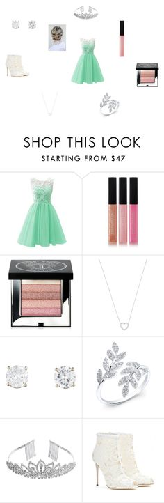 """""""#2"""" by gitel on Polyvore featuring Bobbi Brown Cosmetics, Tiffany & Co., Crystal Allure and Dolce&Gabbana"""