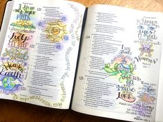 Sketching in Psalms   Krista Hamrick Illustration