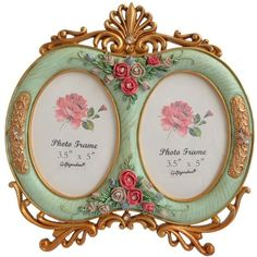 "Hanging Heart Photo Frame Mirror 3.5 x 3.5/"" Shabby Chic Wedding Vintage Love"