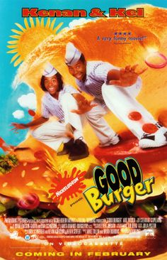 Welcome Good Burger, home of the good burger, can I take your order? lol