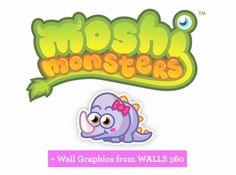 Doris (Moshling Wall Graphics from WALLS 360) http://www.Walls360.com/MoshiMonstershttp://blog.walls360.com/moshi-monsters-wall-graphics-from-walls-360/