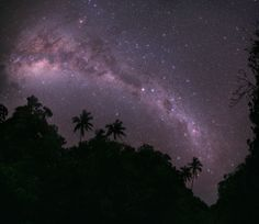 Milky Way Night Sky   The Milky Way spans the velvety tropical night sky as seen from the ...