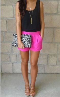 Fashionable Summer Bright Color Outfits Ideas For Women 24