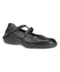 Black Jodi Leather Mary Jane