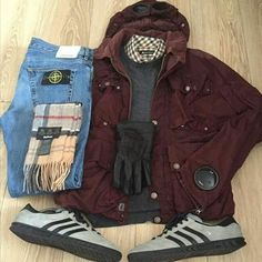 Topangas with CP Company and Stone Island