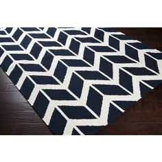 navy rug for nursery