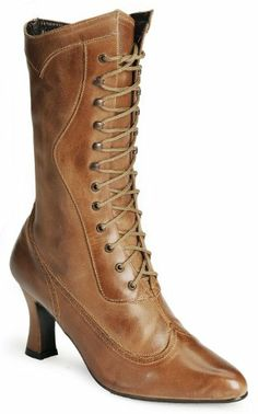 "Oak Tree Farms Women's 9"" Victorian Dress Boot Anq Saddle US Oak Tree,http://www.amazon.com/dp/B00G8EKRBO/ref=cm_sw_r_pi_dp_mHxEtb0Z1BD7MJFR"