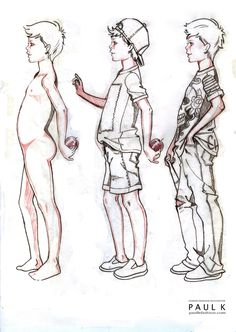 boystudy8jpg kid illustrationillustration fashionfashion illustrationsdrawing sketchesfashion - Kids Sketches