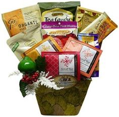 To Your Health and Wellness All Natural Gourmet Food Gift Basket