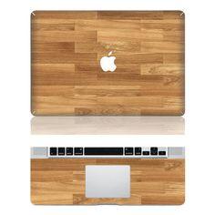 Wood Mac skin Macbook cover decal Mac Decal Macbook Decals Apple cover Decal for Macbook Pro / Macbook Air / iPad / iPad2 / ipad3/ laptop on Etsy, $16.99