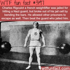 Charles Rigoulot - WTF fun facts