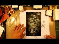 Stampscapes 101: Video 48. Star Fish. - YouTube