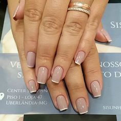 Have you discovered your nails lack of some modern nail art? Sure, recently, many girls personalize their nails with lovely … Love Nails, Pretty Nails, My Nails, Classy Nail Designs, Nail Art Designs, Nails Design, Design Art, French Nails, Nagel Hacks