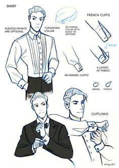 miyuli:  I've been studying the classic black tie dress code (mainly from here) so I thought I could share my notes. Maybe they can be helpful to someone else, too. If I made any mistakes or things are really confusing please tell me. I also have some notes on white tie which I could share as well…