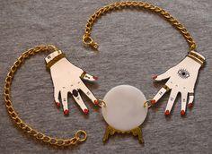 Occult shrinky dink jewelry