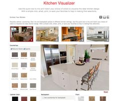 Seigle's is excited to announce the launch of our new Kitchen Visualizer, which allows you to see the colors you are considering for your kitchen redesign—and all it takes is a few clicks of the mouse.