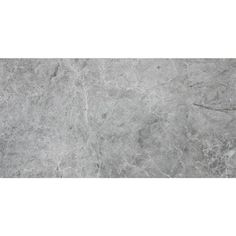 Avenzo 24-in x 12-in Valensa Grey Marble Wall and Floor Tile
