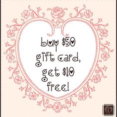 Valentine's Day Special going now through February 14th!