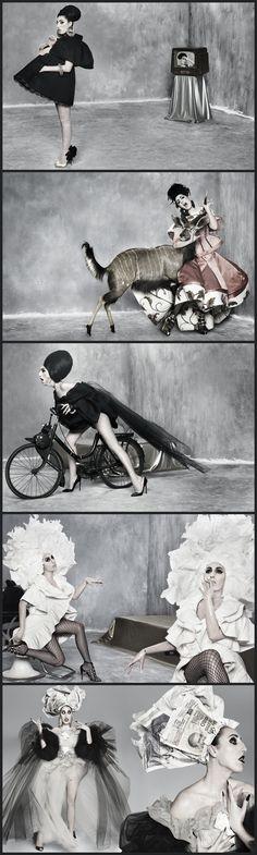 Rossy De Palma for Thierry Mugler {boudoirqueen.typepad.com}.