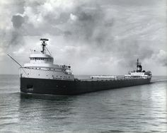 The Detroit News  On Sept. the Edmund Fitzgerald was delivered to her owner and operated out of Cleveland Lake Michigan, Wisconsin, Edmund Fitzgerald, Fleet Of Ships, Great Lakes Ships, The Mitten State, Talk To The Hand, Great Lakes Region, Detroit News