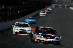 2014 Brickyard 400: Close but no win for JGR (photo: NASCAR via Getty Images/Patrick Smith)