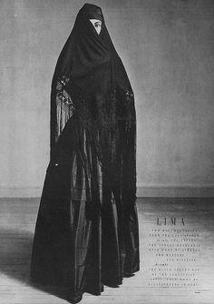 Jean Patchett, February Vogue 1949  By Irving Penn