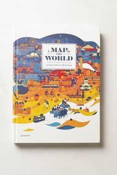 Anthropologie A Map Of The World #anthrofave #anthropologie
