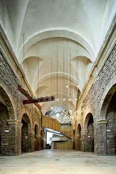 5 | Architect Lashes A New Building Atop Ancient Church Ruins | Co.Design: business + innovation + design