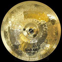"Sabian Prototype HHX Ride Cymbal 22"" 2844 grams"
