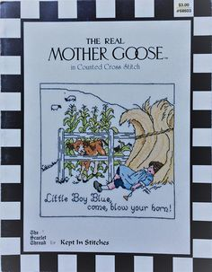 Little Boy Blue cross stitch chart by Kept In Stitches