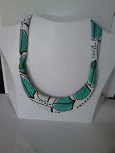 African (tribal) style necklace handmade ,colorful, summer necklace, jewellery, by machama on Etsy
