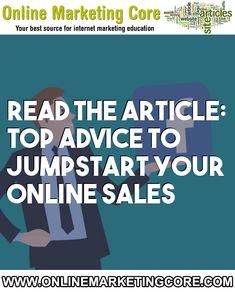 Top advice to jumpstart your online sales Internet Marketing, Online Marketing, Digital Marketing, Business Sales, Branding Your Business, Top Reads, Consumer Behaviour, Behavior Change, People Online