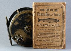For sale here is a very scarce 1903 C. Farlow & Co. In fine shape for its age. Fly Fishing Books, Fly Fishing Tackle, Fly Fishing Gifts, Fishing World, Fishing Reels, Fishing Lures, Fly Tying Materials, Bamboo Fly Rod, Fly Reels