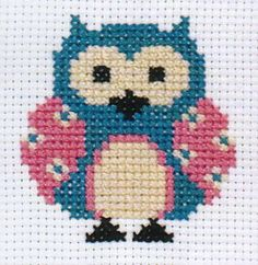 Anchor 1st Kit - Cross Stitch Kit - Zoe Owl