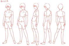 Images of figure drawing tutorial - Anatomy Reference, Drawing Reference Poses, Drawing Poses, Drawing Tips, Tutorial Draw, Figure Drawing Tutorial, Man Anatomy, Body Anatomy, Poses Manga