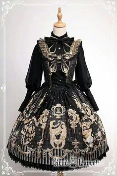 here be dragons — Krad Lanrete The Venice Carnival series pre-order. Harajuku Fashion, Kawaii Fashion, Cute Fashion, Asian Fashion, Rock Fashion, Estilo Lolita, Gothic Lolita Fashion, Steampunk Fashion, Gothic Lolita Dress