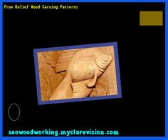Free Relief Wood Carving Patterns 104234 - Woodworking Plans and Projects!