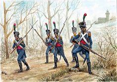 blackpen shop - Light infantry, 1806. Pict_Nap_019: