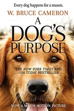A Dog's Purpose—which spent a year on the New York Times Best Seller list—is heading to the big screen! Based on the beloved bestselling novel by W. Bruce Cameron, A Dog's Purpose, from director Lasse Hallström (The Cider House Rules, Dear John, T. Good Books, Books To Read, Free Books, Cider House Rules, A Dogs Purpose, Amblin Entertainment, Believe, Thing 1, Journey