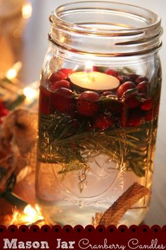 I was looking for a centerpiece for our recent christmas party and since I always have a few mason jars (or a lot) on hand, I decided to make these super cute cranberry candles! I had some extra cranberry leftover from thanksgiving, bought some packaged rosemary (not the dried kind!) and scored some super … … Continue reading →