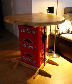 die 18 besten bilder von bierkasten stehtisch woodworking upcycling und wood crafts. Black Bedroom Furniture Sets. Home Design Ideas
