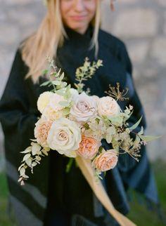 Fine art bridal bouquet with garden roses Garden Roses Wedding, Rose Wedding Bouquet, Bridal Bouquets, Floral Wreath, Wreaths, Fine Art, Wedding Bouquets, Bouquet, Bride Bouquets