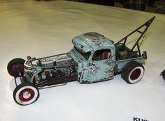 Rat Rod Tow Truck.