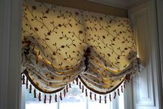How to make butterfly balloon shades (pleated London shades)