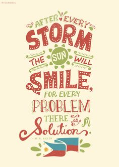 Project Haiyan: The Sun will Smile by Risa Rodil, via Behance