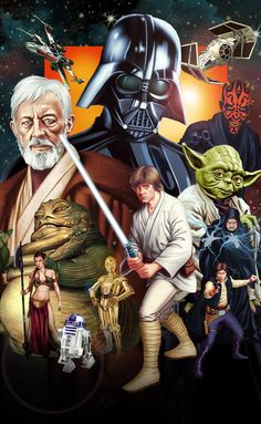 STAR WARS by thesilvabrothers. #StarWars #Art #gosstudio .★ We recommend Gift Shop: http://www.zazzle.com/vintagestylestudio